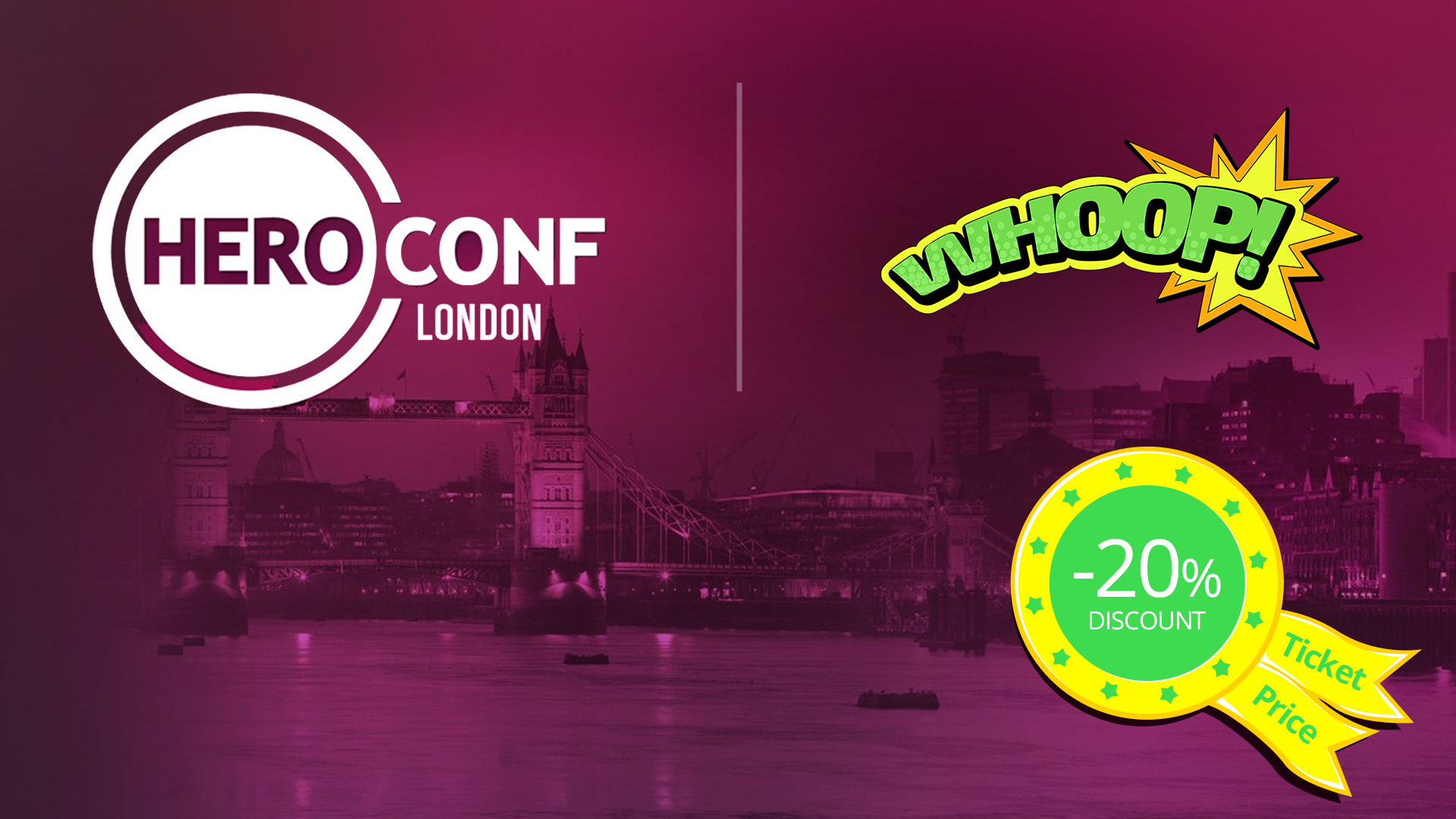 20% Discount On All Hero Conf 2015…