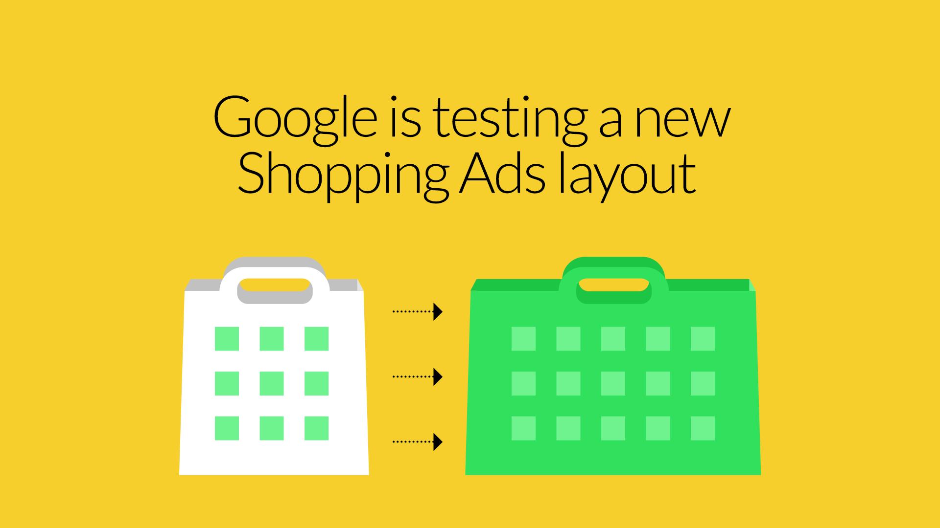 new google shopping ads layout hero image