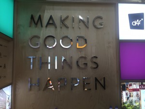 Making Good Things happen