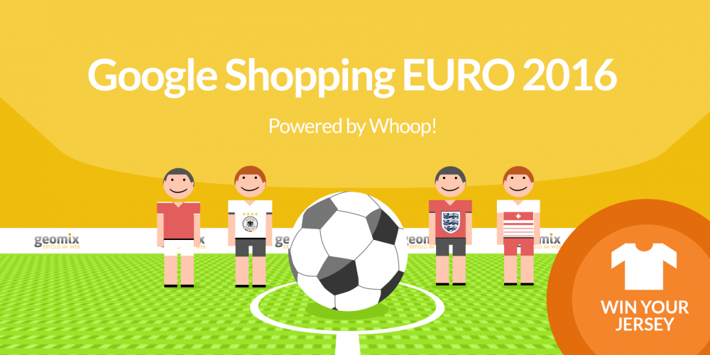Win the Whoop! Google Shopping Tournament 2016