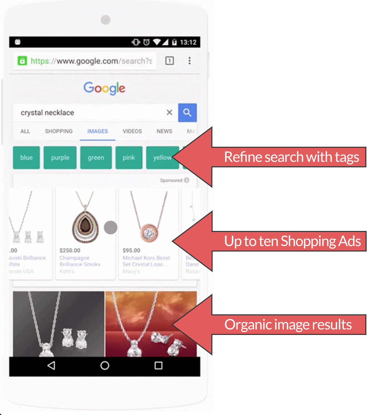 Google Bildersuche Mobil