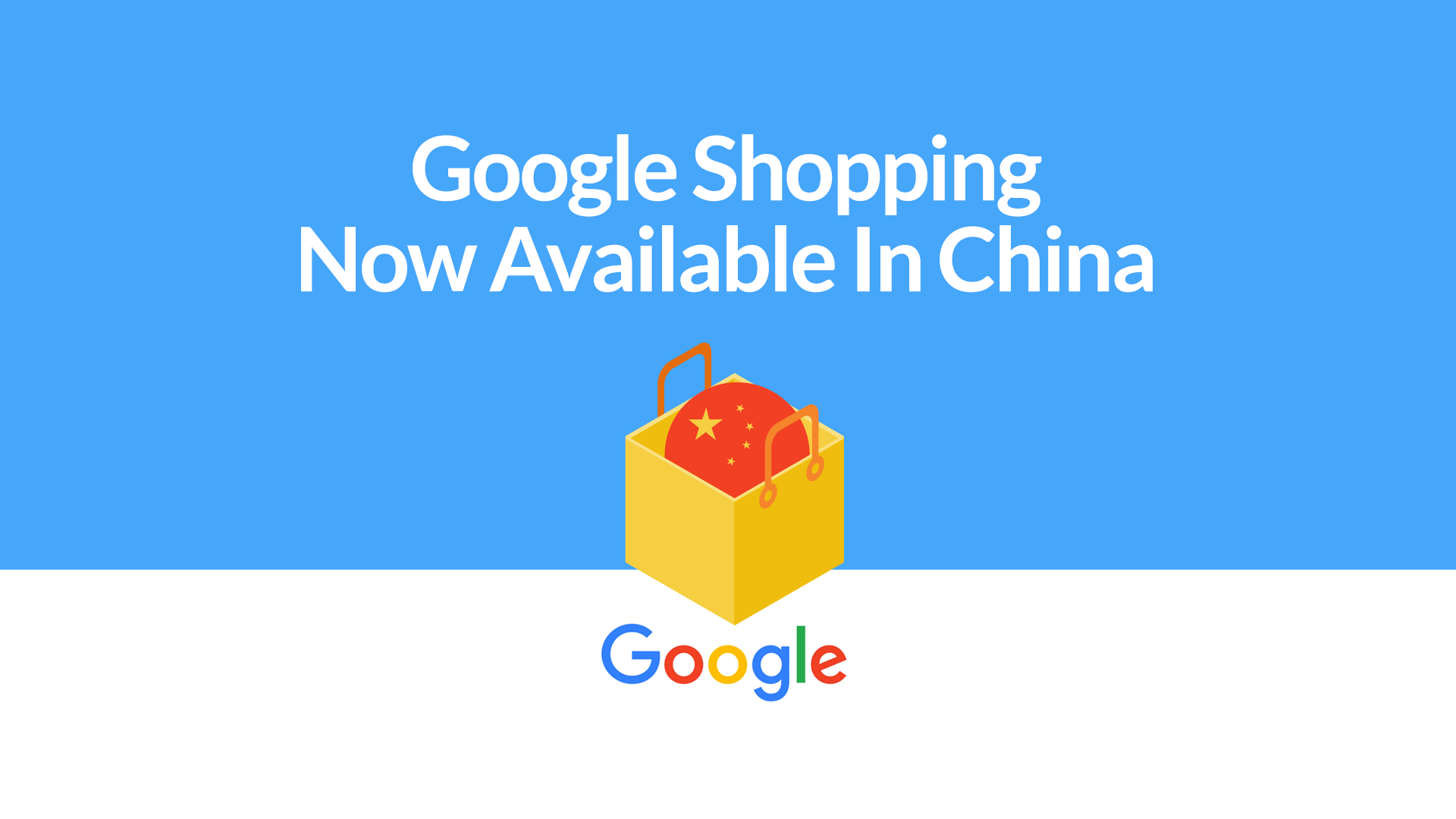 Google Shopping is now available in China