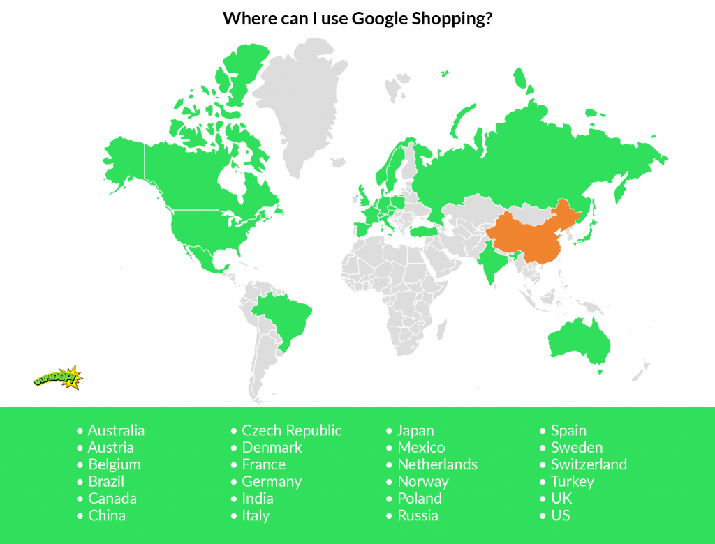 Google Shopping is now available in 24 countries