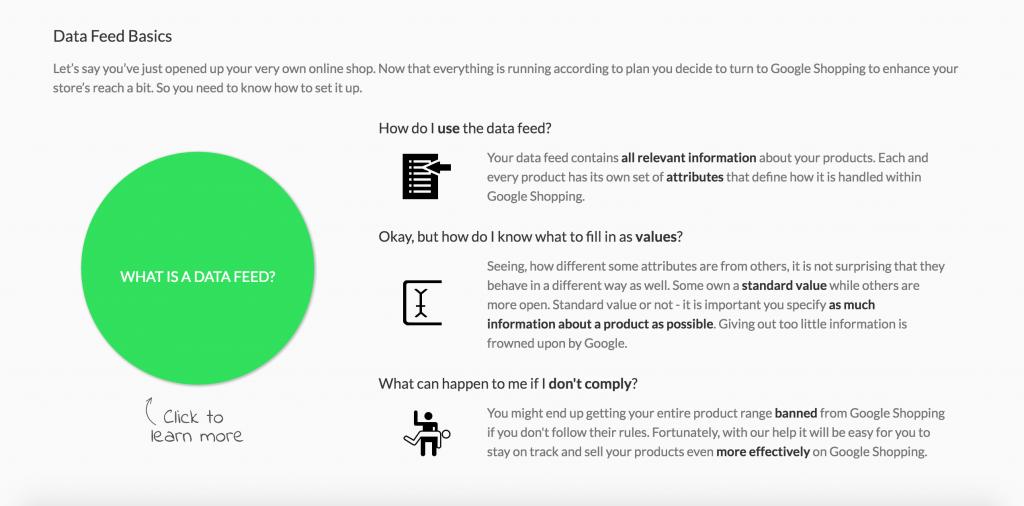 data feed basis