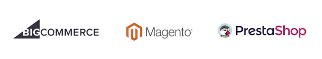 logos of ecommerce-platforms-google-shopping