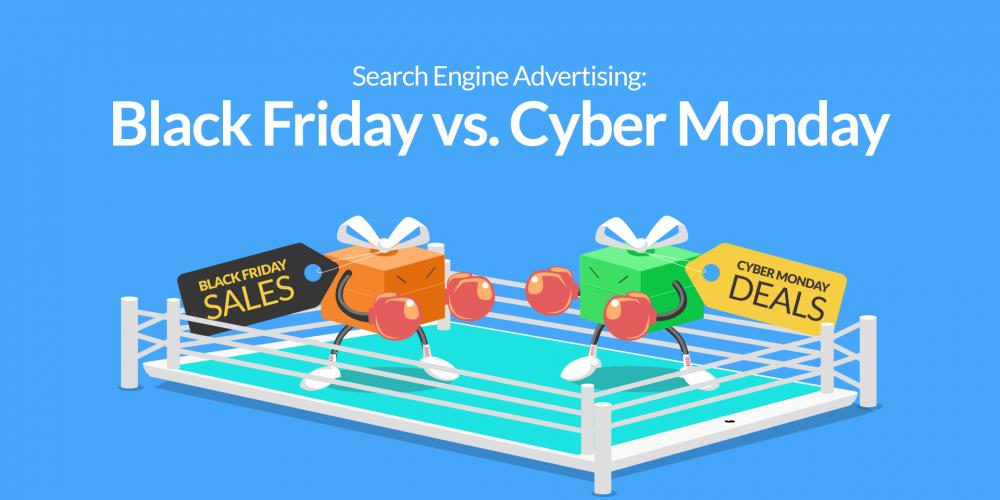 Search Engine Advertising Black Friday Vs Cyber Monday Smec