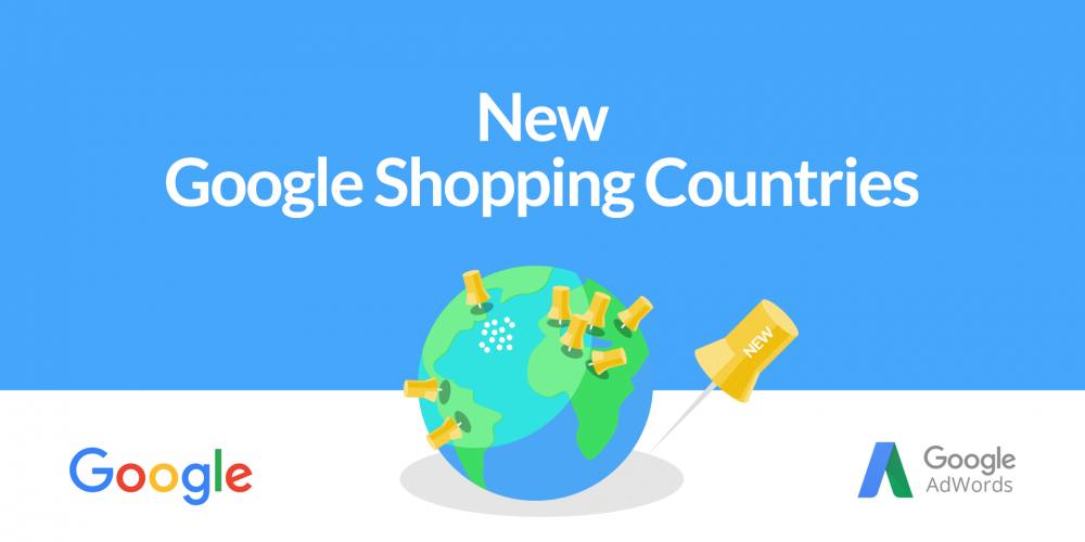New Google Shopping Countries