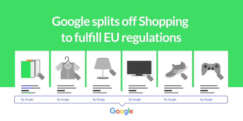 Google splits off Shopping to fulfill EU…