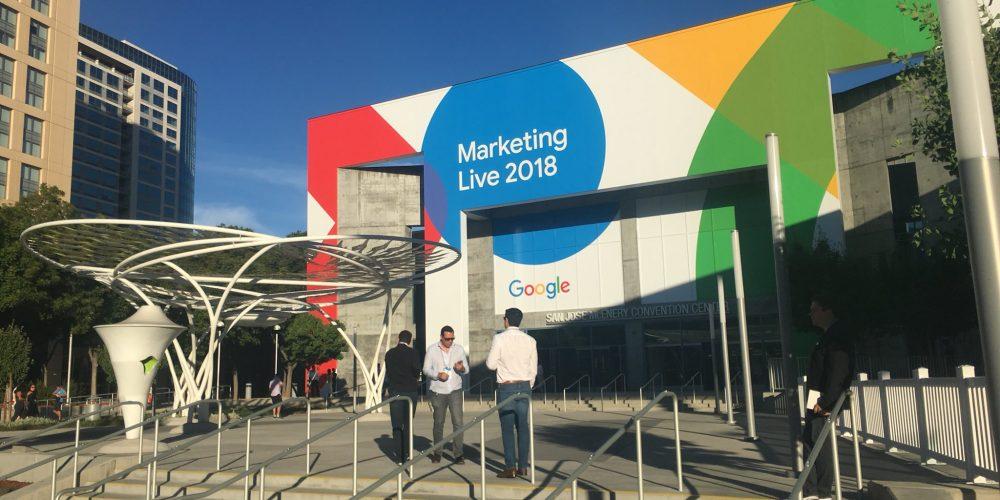 Google Marketing Live 2018 – Age of…