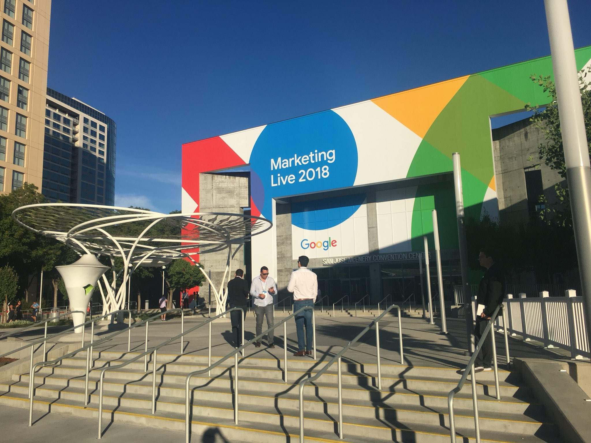 Google Marketing Live in San Jose, CA