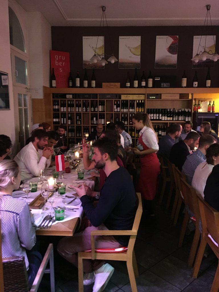 Dinner at Österia