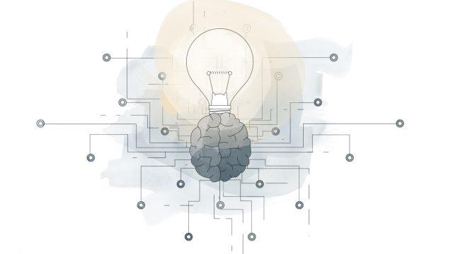 idea light bulb for lean innovation