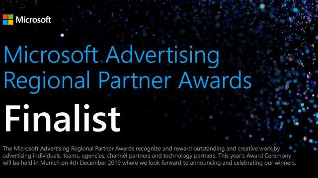 Microsoft Advertising Regional Partner Awards 2019 – Finalists Badge