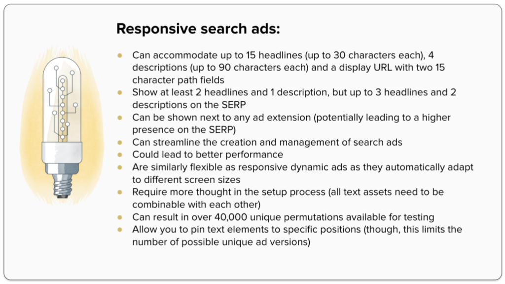 Responsive search ads: An overview