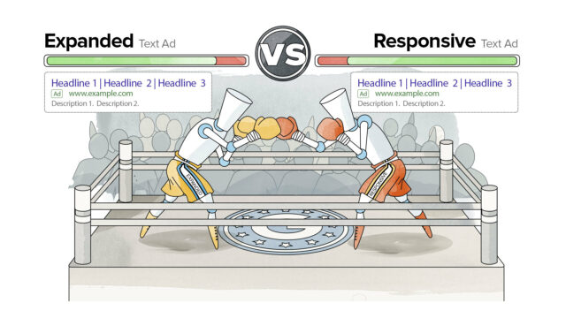 Responsive search ads vs. expanded text ads