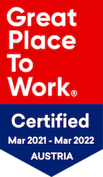 smec badge for Great Place To Work certified in Austria