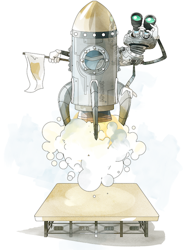 smec rocket illustration