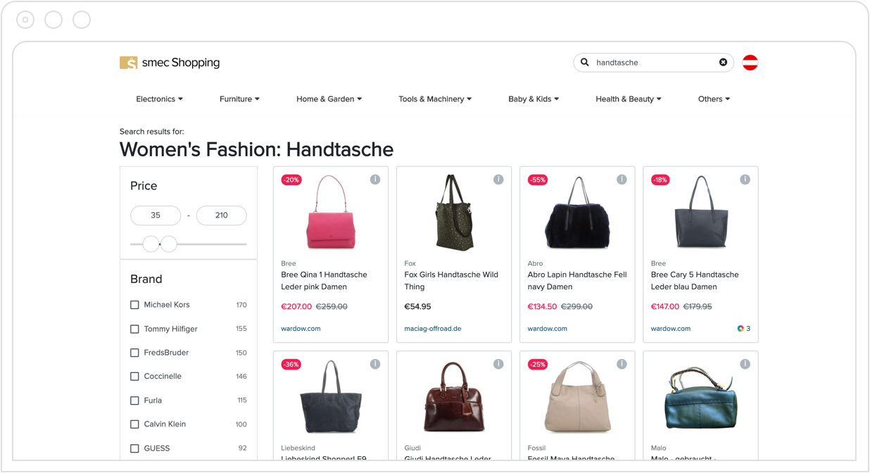 smec Shopping screenshot