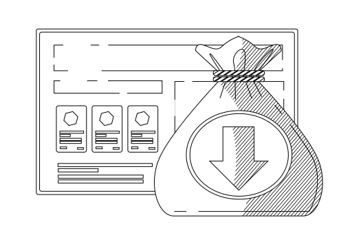 smec Shopping Feature Icon